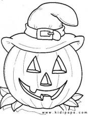 kidipapa halloween citrouille chapeau