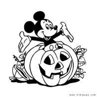 kidipapa halloween mickey citrouille