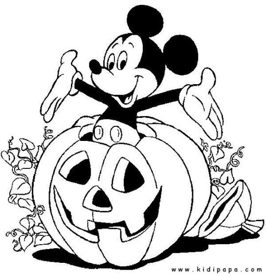 kidipapa halloween mickey citrouille2