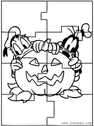 kidipapa halloween puzzle