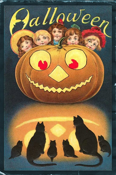 kidipapa halloween retro