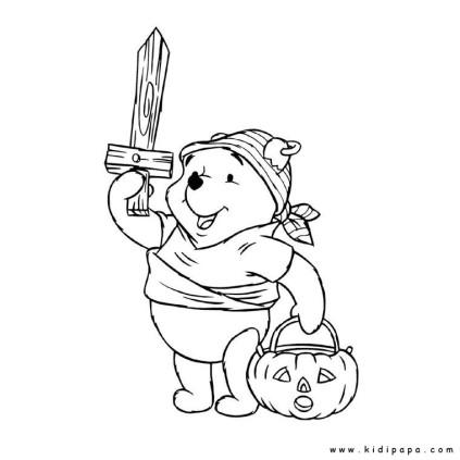 kidipapa halloween winnie-l-ourson
