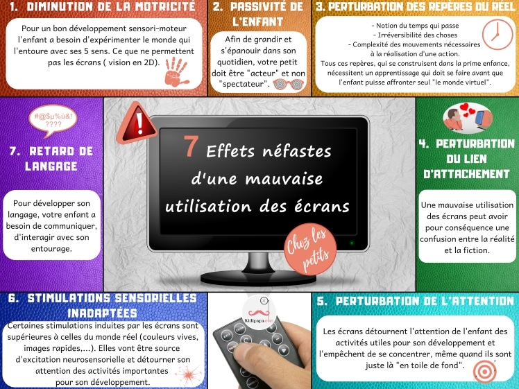 kidipapa infographie 7 mefaits television